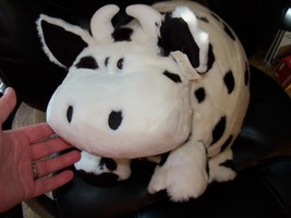 Carlton Cards Huge Rare Holstein Soft Fat Cow NEW - $42.33