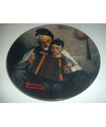 Norman Rockwell The Music Maker Plate 1981 Vintage - $12.99