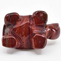 Rainbow Jasper Gemstone Tiny Miniature Turtle Hand Carved Stone Figurine image 5