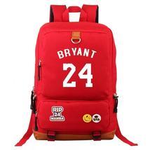 Basketball Lakers 24 Kobe Bryant Mamba #3 School Bags Water Proof Backpa... - $36.99