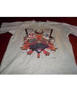 PHILADELPHIA PHILLIES 1993 WORLD SERIES VINTAGE T-SHIRT Blue Jays Large ... - $14.84