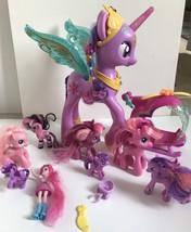 My Little Pony Lot Twilight Sparkle sound Pinkie Pie mom Cheerilee G 3.5... - $29.99