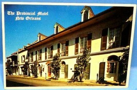 The Provincial Motel - French Quarter New Orleans  Louisiana Postcard (A4) - $7.84