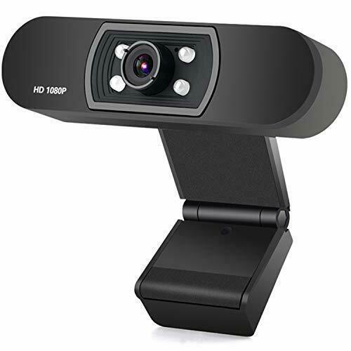 ANTZZON Webcam 1080P Full HD PC Skype Camera,with Microphone, Video Calling and - $67.13