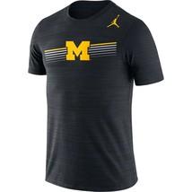 Michigan Wolverines Mens Jordan Velocity Legend DRI-FIT T-Shirt - XXL & ... - $24.99