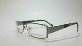 Authentic Carlo Bellini 7329 Buffalo Horn Gunmetal Eyeglasses Frame 55-16-140 - $97.02