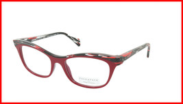 Face A Face Eyeglasses Frame GILDA 2 Col. 4023 Acetate Purple Red Lines Red Ligh - $316.62
