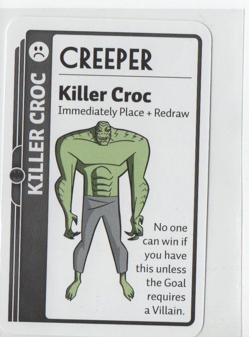 Killer Croc - Creeper - Fluxx! Collectible Card Game Promo-Card - New!