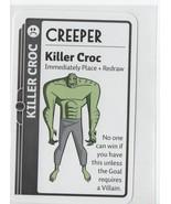 Killer Croc - Creeper - Fluxx! Collectible Card Game Promo-Card - New! - $1.03