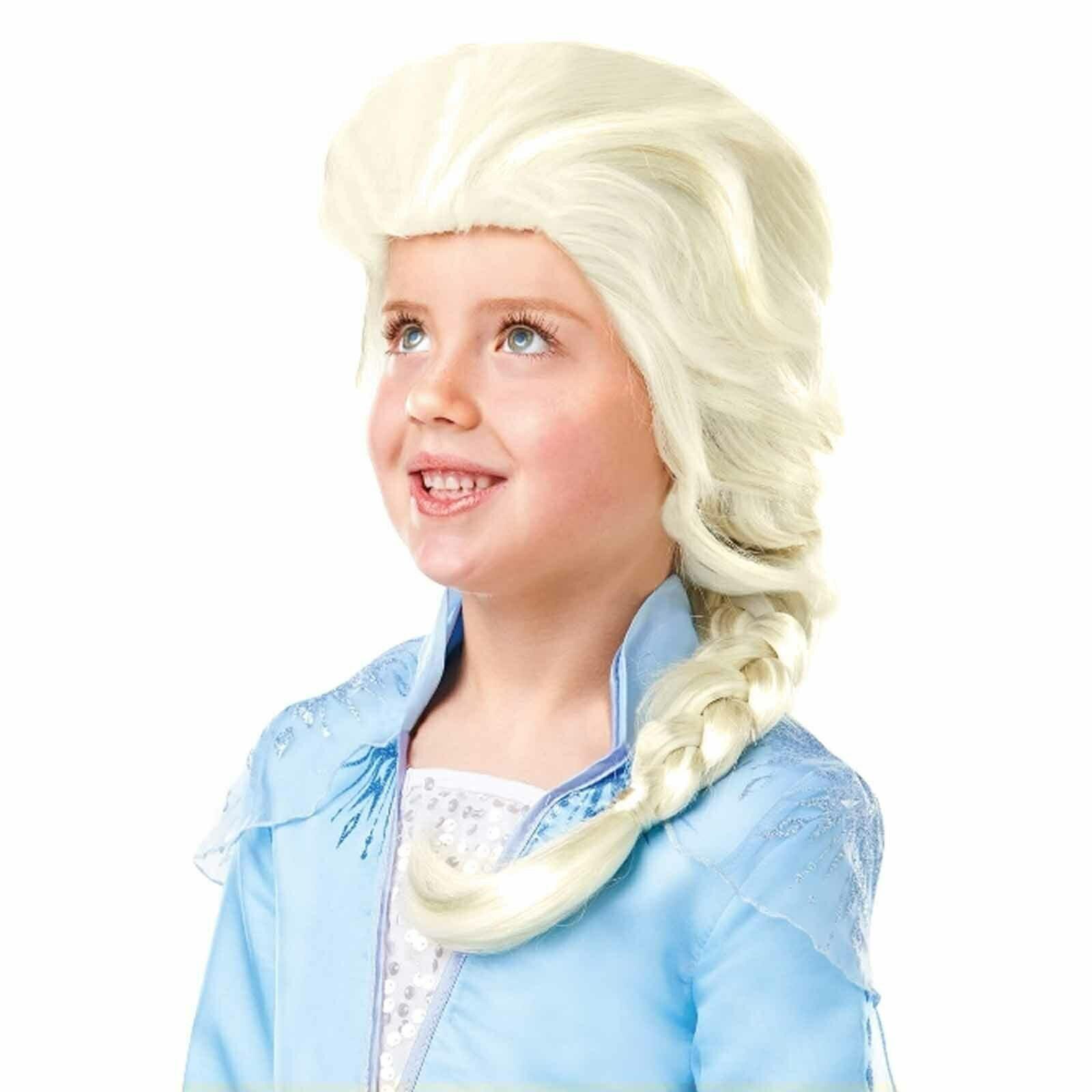 Disguise Eiskönigin 2 Elsa Kinder Perücke Neu