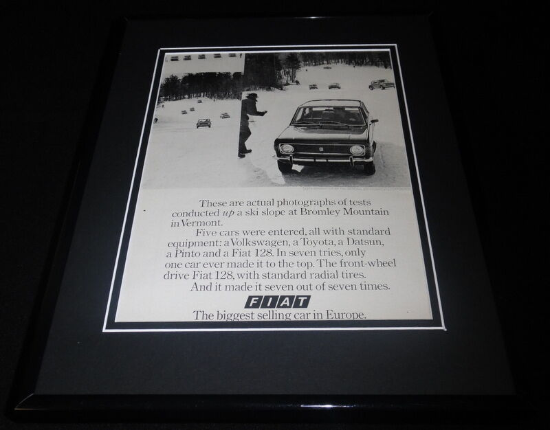Primary image for 1973 Rector Cadillac 11x14 Framed ORIGINAL Vintage Advertisement