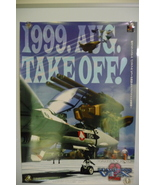 "1999 B2 PLAYSTATION MACROSS VFX 2 ""TAKE OFF"" JAPANESE POSTER ps3 valkyri... - $63.00"
