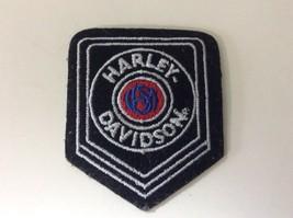 """Vintage Harley-Davidson Motorcycle USA Embroidered Shoulder Patch 2"""" x 3... - $19.55"""
