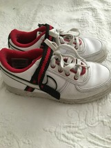Nike Boys Shoes Size 2Y White / Red 314676-100--VGC - $24.29