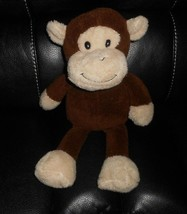 "17"" Animal Adventure 2016 Brown Monkey Stuffed Plush Toy Lovey Sweet Sprouts - $31.09"