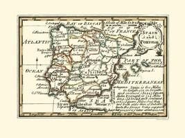 Spain Portugal - Gibson 1758 - 23.00 x 30.80 - $36.58+