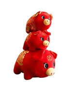 Pig Mascot Chinese Zodiac Plush Toy 2019 Year Symbol Bring Wealth Lucky ... - $11.99