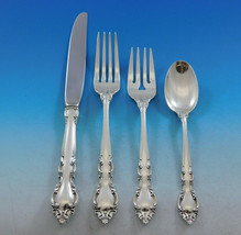 Malvern by Lunt Sterling Silver Flatware Service for 12 Set 55 pieces - $3,295.00