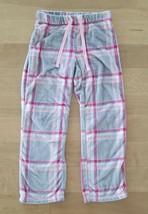 Secret Treasures Sleepwear Pants White/Grey/Pink 100% Polyester Size S 4-6 - $7.92