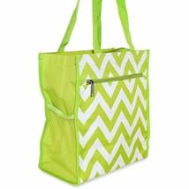 Chevron Womens Small Tote Bag Handbag Purse for Travel Work School Shopping - $8.35