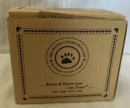 Bearware Pottery Elliot and The Tree Salt & Pepper Shaker Boyds Bear Chr... - $37.39
