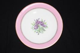 19th Century Royal Worcester Dessert Plates Pink Autumn Winter Painted Scene Set - $445.00