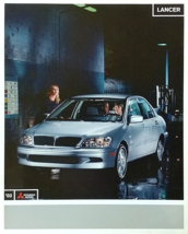 2003 Mitsubishi LANCER brochure catalog 03 ES LS O-Z Rally - $6.00