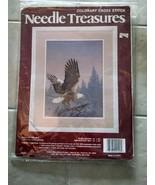 "Needle Treasures Eagle at Twilight Cross Stitch 12"" x 16""  Kit Complete Colorart - $9.99"
