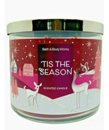 Bath & Body Works 'Tis the Season 3 Wick Scented Candle 14.5 oz - $24.30