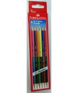 Faber-Castell  6 Bi-Colour Pencils (12 shades)  Color Pencils - $5.34