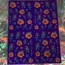 VTG 90s Lisa Frank Complete Fullsize Sticker Sheet Dragonfly Diva S277  image 2
