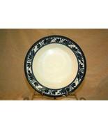 "Dansk Ceylon Rimmed Soup Bowl 8 3/4"" - $25.19"