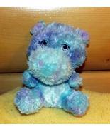 "Build-A-Bear Plush 6"" Small Frys Pastel Blue Lavender Shaded Hippopotamu... - $6.89"