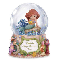 Precious Moments Disney Showcase Collection Musical Water Globe Under th... - $39.59