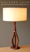 MID CENTURY DANISH MODERN LAMP! Knoll Wood Eame... - $700.00