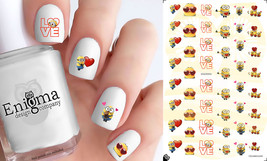 Minions Valentine's Day Nail Decals (Set of 56) - $4.95