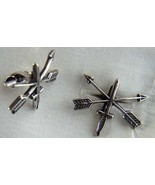 US Special Forces Cuff links  Sterling Silver   - $70.00