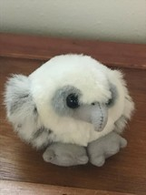 Mini Swibco Gray & White Young Plush Eagle Stuffed Animal Magnet for Sch... - $7.69
