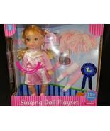 Cheerleader Singing Doll Play Set  - $15.63