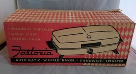 Vintage Fostoria Waffle Iron and Sandwich Maker, Grill, Toaster Model 36101 - $34.61
