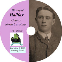 HALIFAX County North Carolina NC - History Genealogy Roanoke  - 14 Books... - $6.76