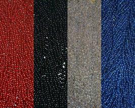 48 Falcons Patriots Football Superbowl Tailgate Favors Mardi Gras Beads - $15.77 CAD
