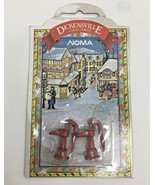 Dickensville Collectables Accessories Red Water Pump Christmas Village T... - $8.80