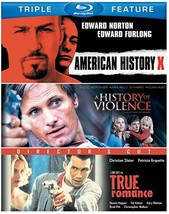 American History X / A History of Violence / True Romance Triple Feature Blu-ray