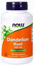 NOW Foods Dandelion Root, 500 mg, 100 Veg Capsules Taraxacum officinalE. - $15.83