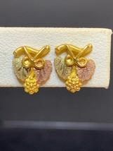 Vintage 1/20 14K Gold Filled Screwback Earrings - $15.00