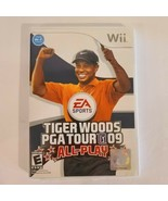 Tiger Woods PGA Tour 09 ALL-PLAY (Nintendo Wii, 2008) COMPLETE, TESTED - $13.85