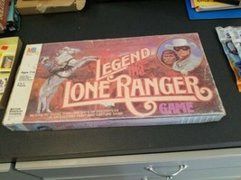 Vintage 1980 THE LEGEND OF THE LONE RANGER BOARD GAME 100% Complete  - $17.82