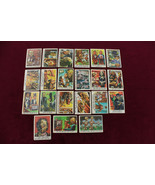 "1959 Topps Bubbles ""You'll Die Laughing"" Trade Cards LOT 21 Cards Monsters  - $48.51"