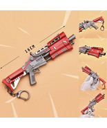 Fortnight Battle Royale Gun Keychain Toy Metal Action Figure Model Gun W... - $12.89